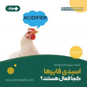 اسیدیفایر ها و جذب مواد